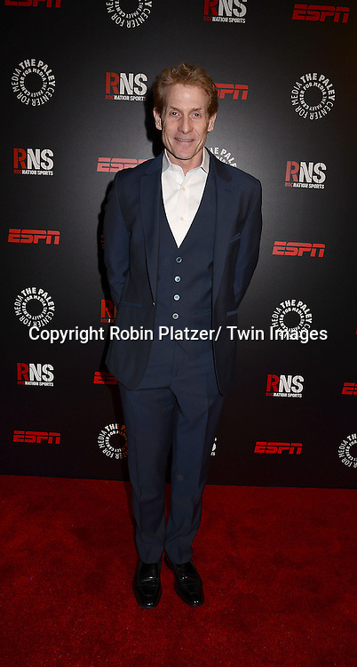 Skip Bayless of ESPN attends The Paley Center for Media's Annual Benefit Dinner honoring ESPN' s 35th Anniversary on May 28, 2014 at 583 Park Avenue in New York City, NY, USA.
