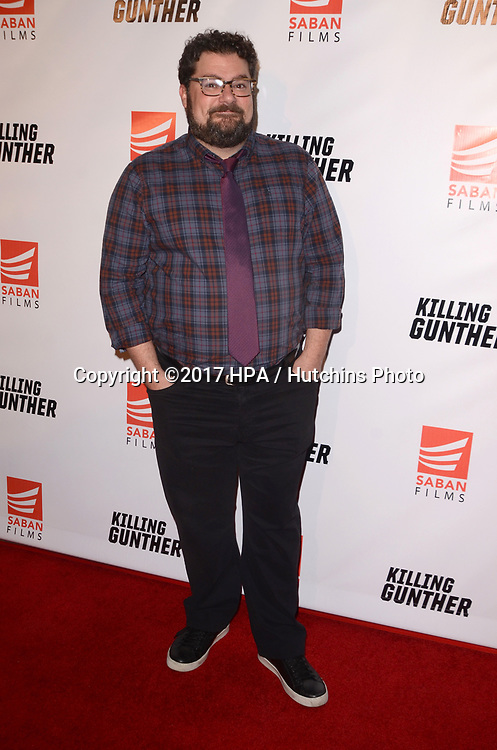 """LOS ANGELES - OCT 14:  Bobby Moynihan at the """"Killing Gunther"""" Los Angeles Special Screening at the TCL Chinese 6 Theaters on October 14, 2017 in Los Angeles, CA"""
