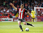 Jack O'Connell of Sheffield Utd takes a shot during the Championship League match at Bramall Lane Stadium, Sheffield. Picture date 19th August 2017. Picture credit should read: Simon Bellis/Sportimage