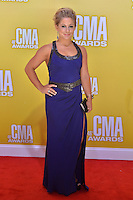 NASHVILLE, TN - NOVEMBER 1: Shawn Johnson on the Macy's Red Carpet at the 46th Annual CMA Awards at the Bridgestone Arena in Nashville, TN on Nov. 1, 2012. © mpi99/MediaPunch Inc. /NortePhoto .<br />