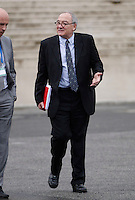 AGENZIA EUROPEA DELLO SPAZIO.CONSIGLIO A LIVELLO MINISTERIALE .NELLA FOTO  JEAN JACQUES DORDAIN ( SX).EUROPEAN SPACE AGENCY  COUNCIL MEETING AT MINISTERIAL LEVEL.