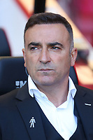 Swansea City manager Carlos Carvalhal prior to kick off of the Premier League match between AFC Bournemouth and Swansea City at Vitality Stadium in Bournemouth, England, UK. Saturday 05 May 2018