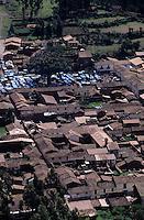 Amérique/Amérique du Sud/Pérou/Pisac : Vue générale