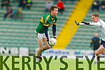 Jack Berry Kerry in action against George Bastibe IT Tralee in the McGrath cup at Austin Stack Park on Sunday.