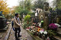 Parigi nella foto cimitero di cimitero P&egrave;re Lachaise geografico Parigi 05/11/2016 foto Matteo Biatta<br /> <br /> Paris in the picture P&egrave;re Lachaise cimitery geographic Paris 05/11/2016 photo by Matteo Biatta