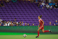 Orlando, FL - Tuesday August 08, 2017: Mallory Pugh during a regular season National Women's Soccer League (NWSL) match between the Orlando Pride and the Chicago Red Stars at Orlando City Stadium.