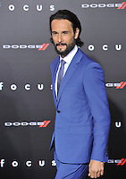 Rodrigo Santoro at the Los Angeles premiere of his movie &quot;Focus&quot; at the TCL Chinese Theatre, Hollywood.<br /> February 24, 2015  Los Angeles, CA<br /> Picture: Paul Smith / Featureflash