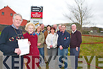 PEOPLE POWER: Ballymullen residents in Tralee happy An Bord Pleanala agreed with their concerns. Front l-r: John O'Shea and Jo Gaffney. Back l-r were: Margareet Humphries, Philomena Bennis, Kitty Seymour, Michael Gaffney, Tommy Collins, Michael Leahy, Alan Ferriter and Michael Bennis..