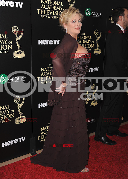 BEVERLY HILLS, CA - JUNE 22:  Tonja Walker at the 41st Annual Daytime Emmy Awards at the Beverly Hilton Hotel on June 22, 2014 in Beverly Hills, California. SKPG/MPI/Starlitepics
