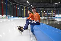 SPEEDSKATING: 06-12-2018, Tomaszów Mazowiecki (POL), ISU World Cup Arena Lodowa, Jos de Vos (NED), Louis Hollaar (NED), ©photo Martin de Jong