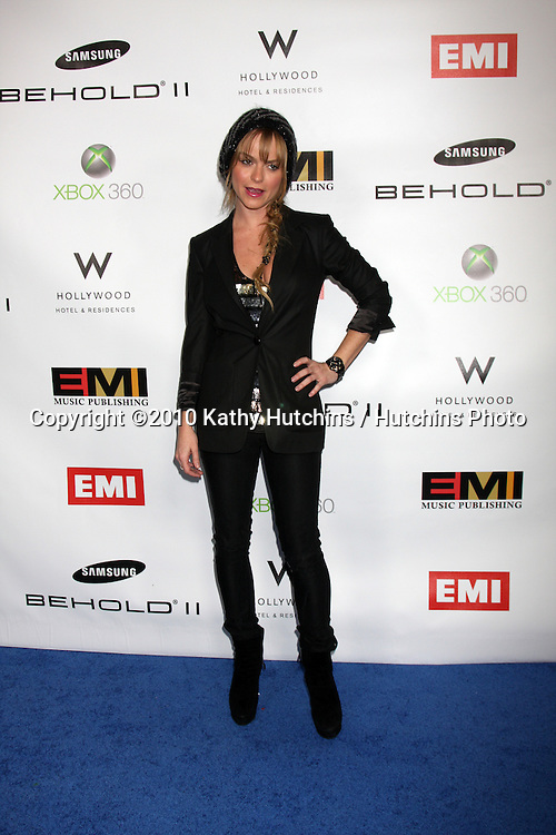 Taryn Manning.arriving at the EMI Post Grammy Party 2010.W Hotel Hollwood.Los Angeles, CA.January 31, 2010.©2010 Kathy Hutchins / Hutchins Photo....