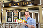 Armel Whyte of Allo's Bar and Bistro in Church Street, Listowel.