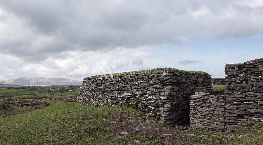 One of two ring forts we visited during our exploration of the Ring of Kerry.