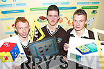 TOP OF THE CLASS: Students from Abbeyfeale Vocational School designed a number of projects for the new Leaving Certificate Technology course which will be used to train teachers in the new technology..L/r. Padraig Stack (Abbeyfeale), Patrick Kelly (Tournafulla)  and Shane Stack (Abbeyfeale).   Copyright Kerry's Eye 2008