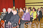 Public meeting :A section of the crowd attending the public meeting about the closing of beds at Listowel Hospital held at St. Patricks Hall, Listowel on Friday night.