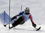March 4, 2012:  Gerald Hayden competes during the World Disabled Ski Invitational Championships, Winter Park, Colorado.