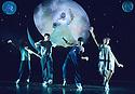 Caroline or Change. Book and Lyrics by Tony Kushner. With Angela M Caesar as The Moon ,Mitchell Zhangazha,Perry Millward as Noah Gellman, Kuan Frye, Pippa Bennett-Warner.  Opens at the Lyttleton  Theatre on 19/10/06 CREDIT Geraint Lewis