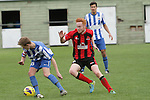 Nelson Marlborough Falcons vs Canterbury, ASB Youth League Football, 27th September 2014, Ricky Wilson/Shuttersport
