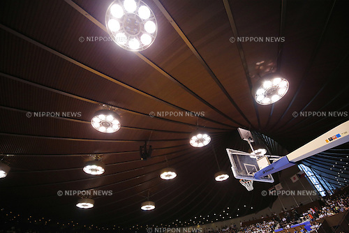 The Ambience Shot, AUGUST 15, 2015 - Basketball : International friendly match between Japan 65-54 Czech Republic at 2nd Yoyogi Gymnasium in Tokyo, Japan. (Photo by Yusuke Nakanishi/AFLO SPORT)
