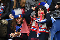 20190607 - PARIS , FRANCE : French fans and supporters pictured during the female soccer game between France – Les Bleues  and Korea Republic, the opening game and first game for both teams in group A during the FIFA Women's  World Championship in France 2019, Friday 7 th June 2019 at the Parc des Princes Stadium in Paris , France .  PHOTO SPORTPIX.BE | DAVID CATRY