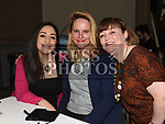 Anna Krause, Paula Urban and Laura McPartlin at the Ryan Sheridan show in The Village Hotel Bettystown. Photo:Colin Bell/pressphotos.ie