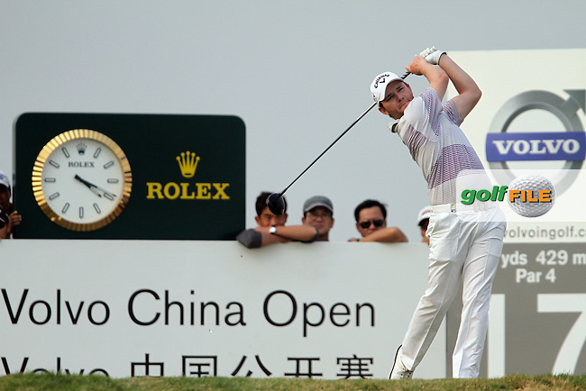 Branden Grace (RSA) on the 17th on the Final Day of the 2012 Volvo China Open at Binhai Lake Golf Club, Tianjin, China...(Photo Jenny Matthews/www.golffile.ie)