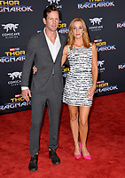 Annie Wersching &amp; Kip Pardue at the premiere for &quot;Thor: Ragnarok&quot; at the El Capitan Theatre, Los Angeles, USA 10 October  2017<br /> Picture: Paul Smith/Featureflash/SilverHub 0208 004 5359 sales@silverhubmedia.com