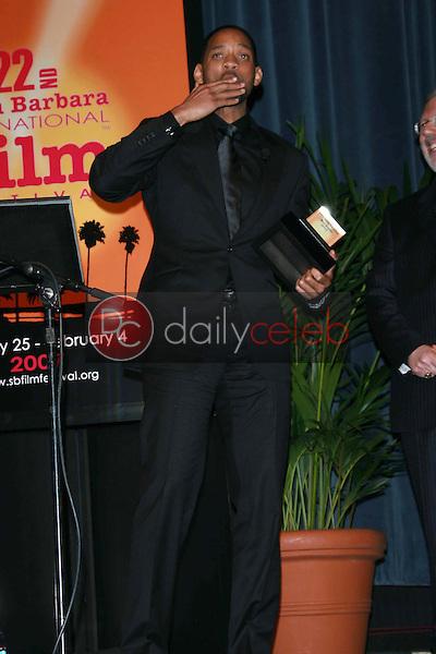 Will Smith<br />at the 22nd Annual Santa Barbara International Film Festival's presentation of the Modern Master Award to Will Smith. The Arlington Theatre, Santa Barbara, CA. 01-27-07<br />Dave Edwards/DailyCeleb.com 818-249-4998