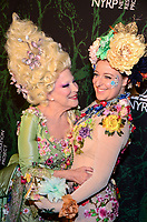 NEW YORK, NY - OCTOBER 30: Bette Midler (L) and her daughter Sophie von Haselberg attend Bette Midler's Annual Hulaween Event Benefiting The New York Restoration Project, at the Cathedral of St. John the Divine on Monday, October 30, 2017  in New York. Credit: Raymond Hagans/MediaPunch /NortePhoto.com