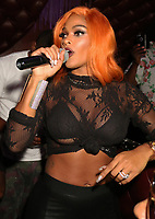NEW YORK, NY - SEPTEMBER 27: Joseline Hernandez At Don Q in Queens, New York City on September 27, 2017. Credit: Walik Goshorn/MediaPunch ***POSITIVE STORIES ONLY***