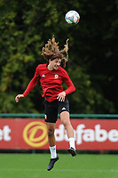 Ethan Ampadu of Wales during the Wales Training Session at The Vale Resort in Cardiff, Wales, UK. Monday 8 October 2018