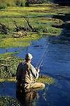 Fly fishing image