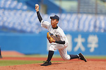 Yusuke Takahashi, AUGUST 4, 2015 - Baseball : All Japan Little-Senior Baseball Championship third place match between Higashi Nerima senior 4-7 Shinjuku senior at Jingu stadium in Tokyo, Japan. (Photo by Yusuke Nakanishi/AFLO SPORT)