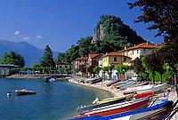 ITA, Italien, Lombardei, Lago Maggiore, Calde (Castelveccana): ruhiger Ort am Ostufer | ITA, Italy, Lombardia, Lago Maggiore, Calde (Castelveccana): quiet village at the east bank