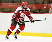 Mark Armstrong (St. Lawrence - 95) - The Harvard University Crimson defeated the St. Lawrence University Saints 4-3 on senior night Saturday, February 26, 2011, at Bright Hockey Center in Cambridge, Massachusetts.