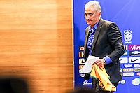 RIO DE JANEIRO, RJ, 20.06.2016 - FUTEBOL-SELEÇÃO - Técnico Tite durante coletiva de imprensa na sede da CBF na Barra da Tijuca na região oeste da cidade do Rio de Janeiro nesta segunda-feira, 20. (Foto: Gustavo Serebrenick/Brazil Photo Press)