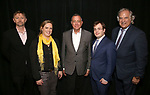 David Carpenter, Themis Gomes, Michael Alden, Hal Berman and Stewart F. Lane attends the Theater Resources Unlimited (TRU): Stream It and They Will Come: How Digital Capture Builds Audience Awareness at The Playroom Theatre on April 26, 2018 in New york City.