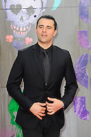 LONDON, ENGLAND - AUGUST 3: Darius Campbell attending the 'Suicide Squad' European Premiere at Odeon Cinema, Leicester Square on August 3, 2016 in London, England.<br /> CAP/MAR<br /> &copy;MAR/Capital Pictures /MediaPunch ***NORTH AND SOUTH AMERICAS ONLY***