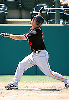 Michael Paulk / Modesto Nuts..Photo by:  Bill Mitchell/Four Seam Images