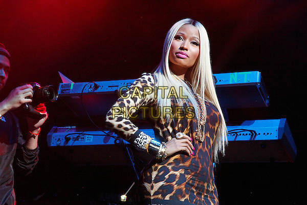 PHILADELPHIA, PA - OCTOBER 25: Special surprise guest  Nicki Minaj at Powerhouse 2013, Wells Fargo Center on October 25, 2013 in in Philadelphia, PA, USA.<br /> CAP/MPI/STA<br /> &copy;Star Shooter/MediaPunch/Capital Pictures