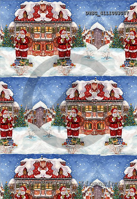 Hans, GIFT WRAPS, Christmas Santa, Snowman, paintings+++++,DTSC4111003057,#GP#,#X#
