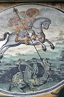 BG51507.JPG BULGARIA, BATCHKOVO MONASTERY, Refectory, 1601, frescoes