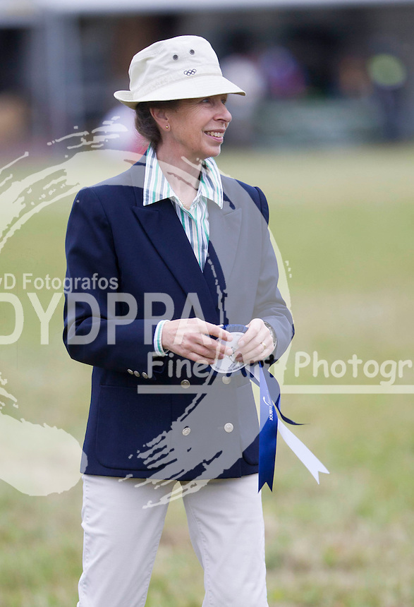 Princess Anne attends  The Whatley Manor International Horse Trials at  Gatcombe Park, United Kingdom. Sunday, 22nd September 2013. Picture by i-Images/ DYD FOTOGRAFOS-DYDPPA
