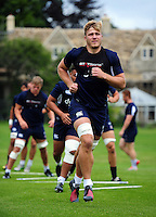 David Denton of Bath Rugby. Bath Rugby pre-season training session on August 9, 2016 at Farleigh House in Bath, England. Photo by: Patrick Khachfe / Onside Images