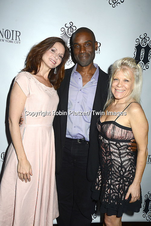 Florencia Lozano, Tim Stickney and Ilene Kristen attend the Marcia Tovsky Soap Stars Party on May 9, 2013 at NOIR, NYC  in New York City.