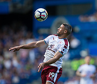Burnley's Jonathan Walters in action<br /> <br /> Photographer Craig Mercer/CameraSport<br /> <br /> The Premier League - Chelsea v Burnley - Saturday August 12th 2017 - Stamford Bridge - London<br /> <br /> World Copyright &copy; 2017 CameraSport. All rights reserved. 43 Linden Ave. Countesthorpe. Leicester. England. LE8 5PG - Tel: +44 (0) 116 277 4147 - admin@camerasport.com - www.camerasport.com