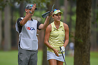 Lexi Thompson (USA) looks over her tee shot on 11 during round 1 of the U.S. Women's Open Championship, Shoal Creek Country Club, at Birmingham, Alabama, USA. 5/31/2018.<br /> Picture: Golffile   Ken Murray<br /> <br /> All photo usage must carry mandatory copyright credit (© Golffile   Ken Murray)