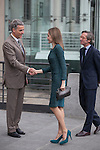 Queen Letizia of Spain attends Basilea´s Kunstmuseum art exhibition at Reina Sofia museum in Madrid, Spain. March 17, 2015. (ALTERPHOTOS/Victor Blanco)