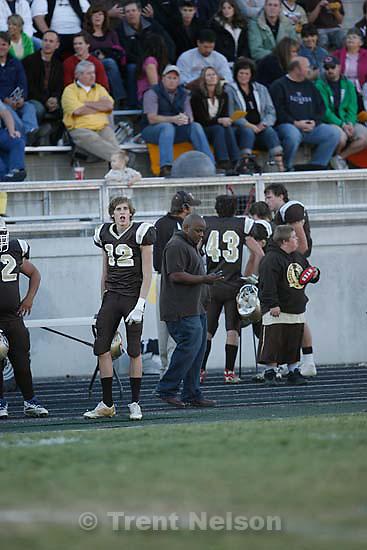 Davis defeats Pleasant Grove 17-9 in high school football playoff action, Friday, November 6 2009 in Kaysville. tony jones
