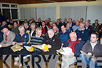 DELEGATES: Club delegates who attended the montly County GAA meeting on Monday night at Austin Stack park Pavillon, Tralee.